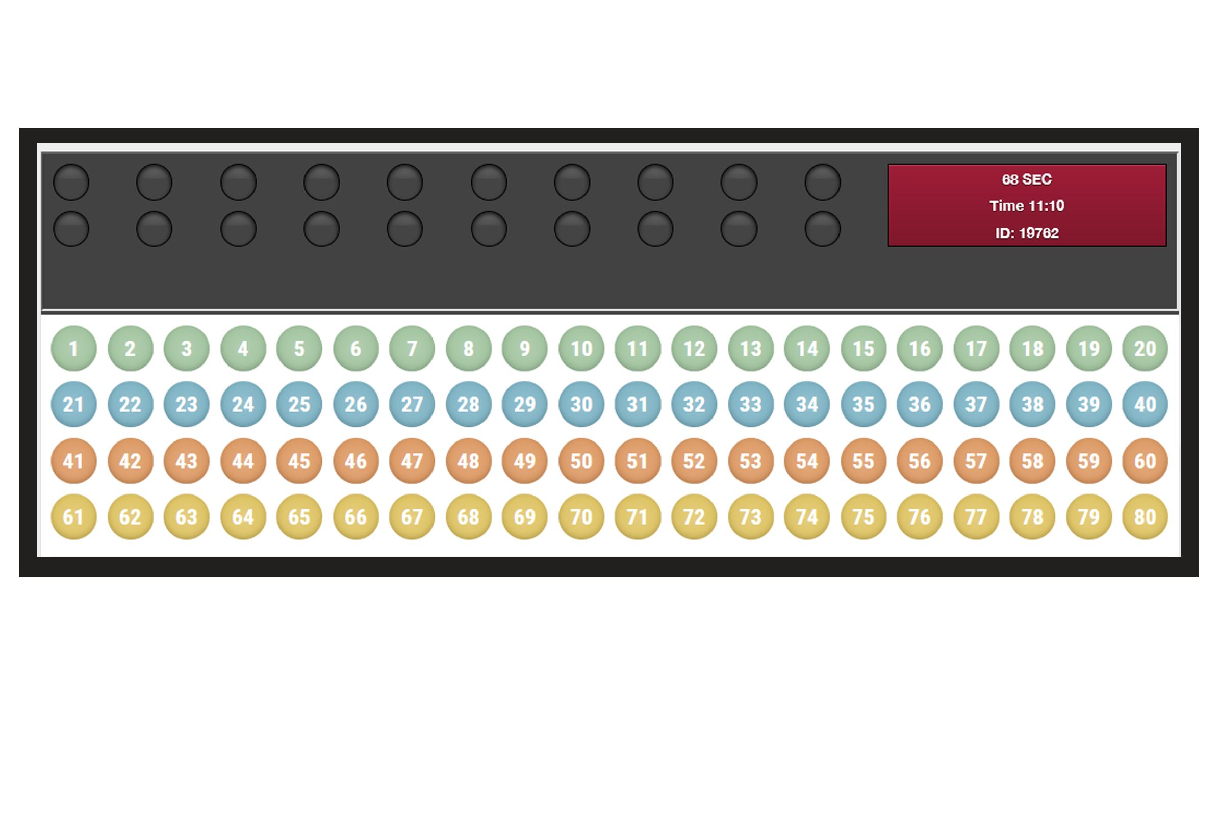Meidian Kladionica - Brojevi