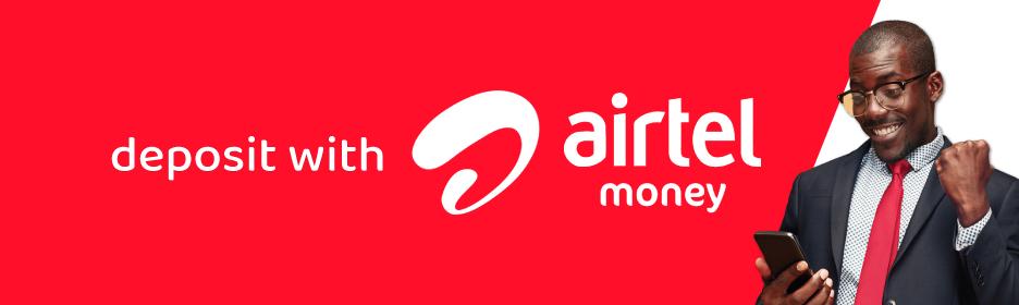 Deposit with Airtel Money
