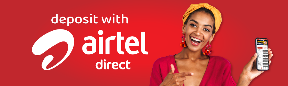 Deposit with Airtel money and Meridianbet