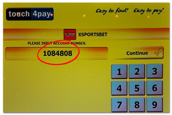 Touch4Pay Zambia - Deposit With XSportsbet