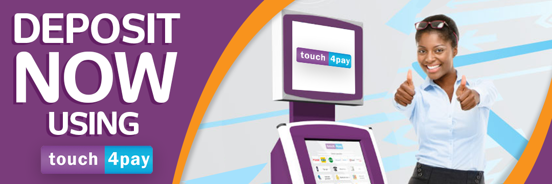 Deposit with Touch4Pay Zambia