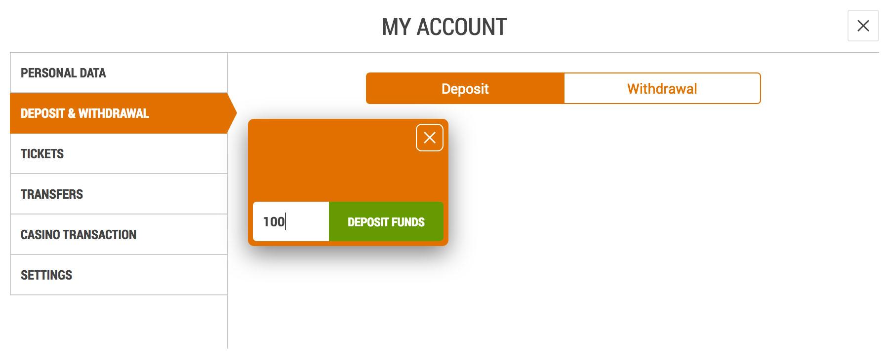 Deposit into your XSportsbet.com Account Using MTN Mobile Money
